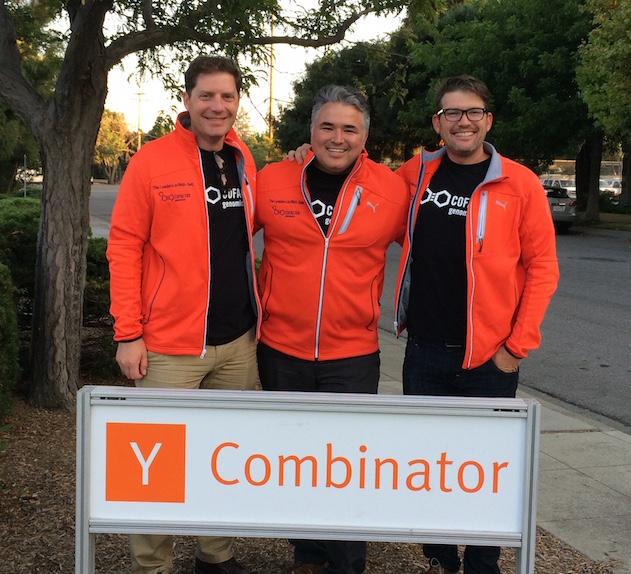 Cofactor's founders at Y Combinator