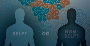 immune-oncology self vs. non-self